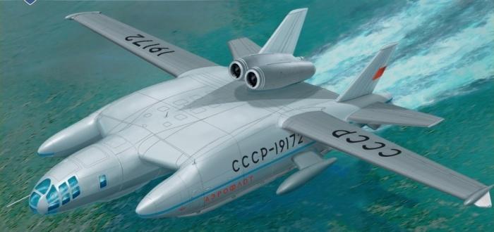 Самолет амфибия ВВА-14