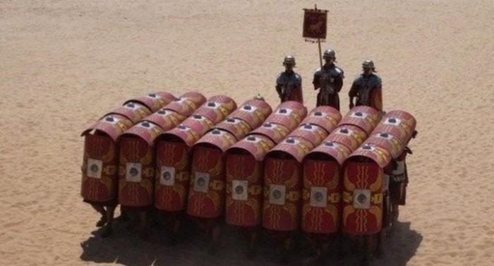 Военное соприкосновение между римлянами и китайцами в античное время Древний Рим, Древний Китай, Римские легионеры, История, Длиннопост