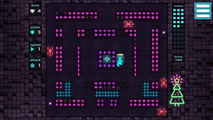 Neon Battle Tank - мой первый небольшой релиз Игры, Разработка игр, Indiedev, Gamedev, Танки, Длиннопост, Html 5, Web