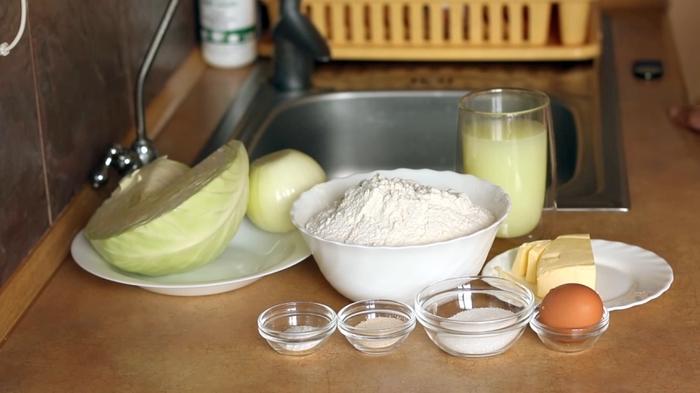 Домашние пирожки с капустой в духовке Видео рецепт, Пирожки с капустой, Дрожжевое тесто, Рецепт, Духовка, Видео, Длиннопост