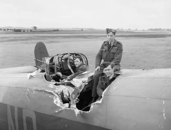 Удачливый бомбер Бомбардировщик, Везение, Великая Отечественная война, Вторая Мировая Война