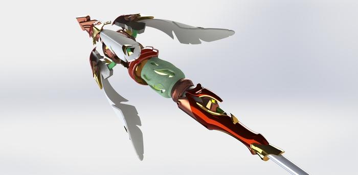 Mercy zhuque (осторожно большие картинки) Mercy, Overwatch, Blizzard, Spearmasters