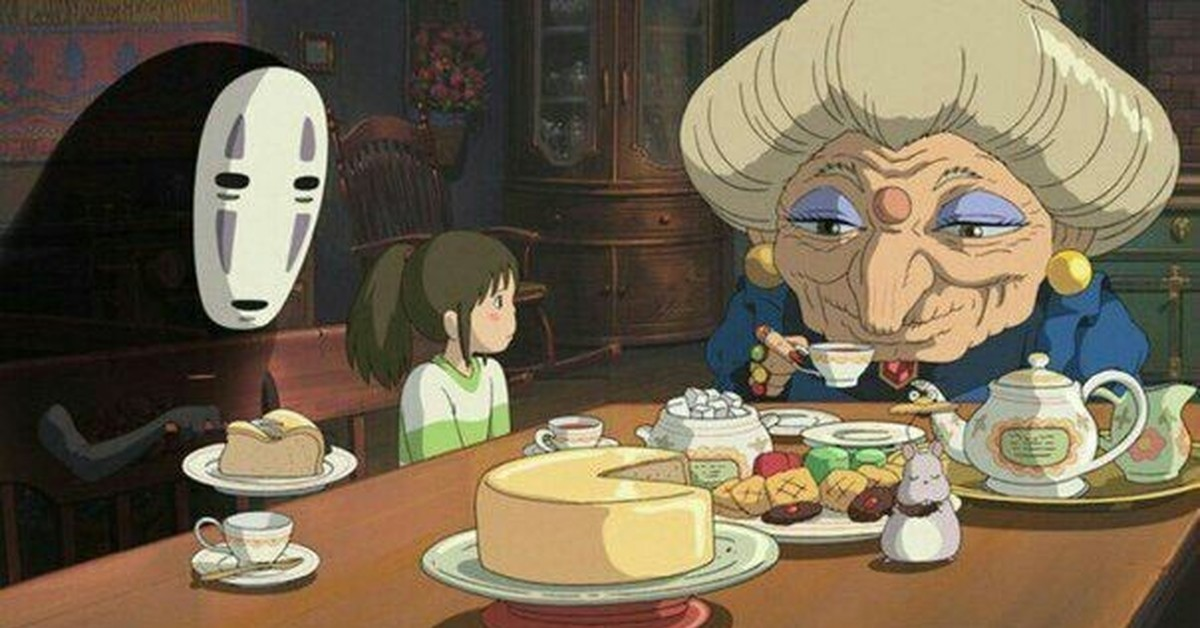 spirited away characters