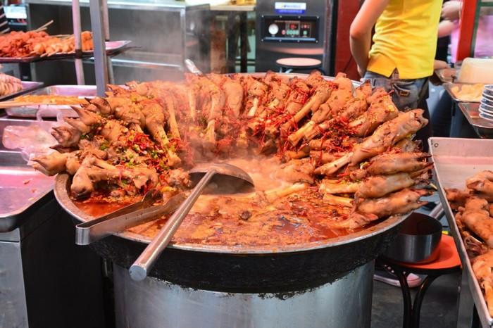 Продуктовый рынок в г. Сиань (Китай) фотография, фото из путешествий, путешествия, Китай, Сиань, длиннопост