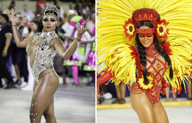 Карнавал в  Рио-де-Жанейро Карнавал, Бразилия, Рио-Де-Жанейро, Длиннопост, Девушки