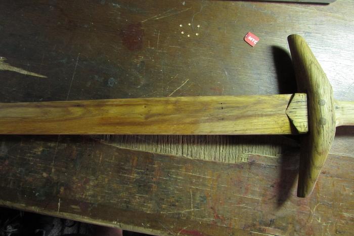 Нужен меч? Будет меч) Самодельный меч, Своими руками, Подарок, 23 февраля, Длиннопост, Рукоделие с процессом