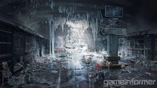 Локации, союзники и враги на новых концепт-артах Metro: Exodus Metro exodus, 4A Games, Концепт-Арт, Длиннопост