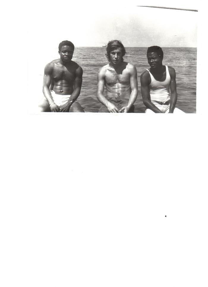 Африка, она и в Африке Африке. Флот, Африка, Сенегал, Дакар, Длиннопост, Море
