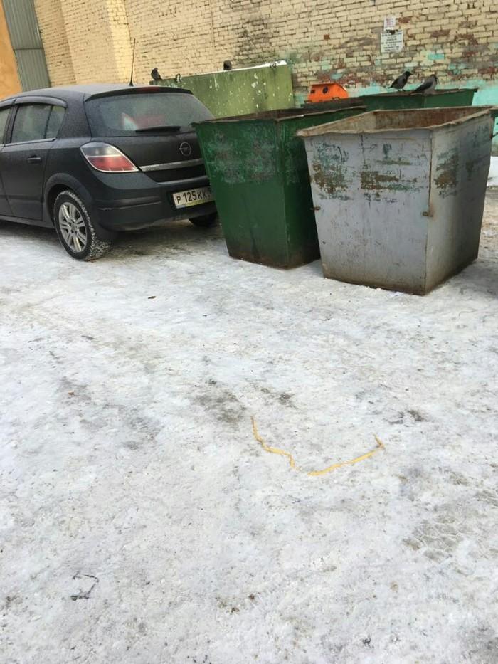 Месть водителя мусоровоза Водятел, Авто, Помойка, Длиннопост