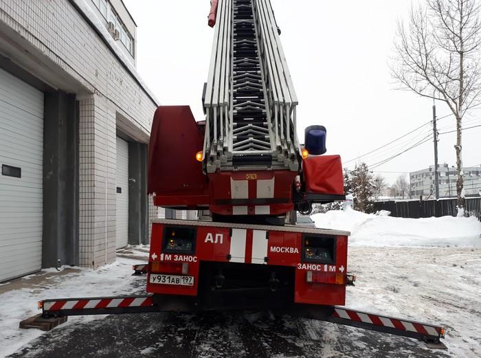 Пожарная автолестница Magirus 30м. ч.2 Пожарная машина, Мчс, Длиннопост