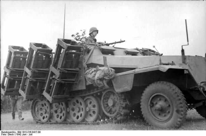 Необычный шушпанцер 2 мировой Техника, Вторая мировая война, Реактивная артиллерия, Фотография, Шушпанцер, Длиннопост