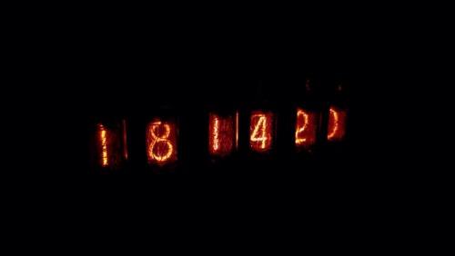 Часы на газоразрядных индикаторах ИН-14 с помощью arduino nano v2. Nixie clock, Arduino, Ин-14, Газоразрядные индикаторы, Своими руками, Часы, Ws2812b, Гифка, Длиннопост