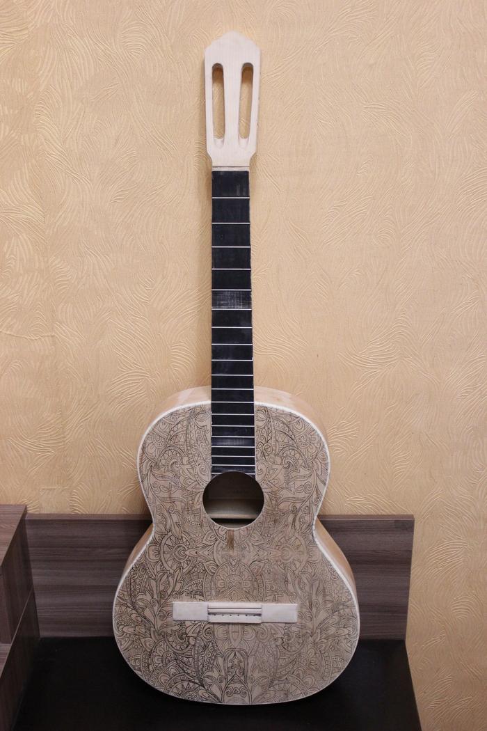 реставрация гитары своими руками фото предлагаем профессиональную аэрографию