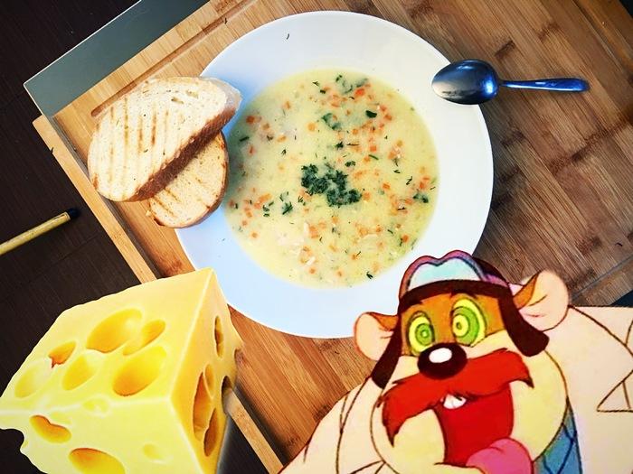 Нежный сырный суп Сыр, Суп, Рецепт, Сырный суп, Видео, Длиннопост