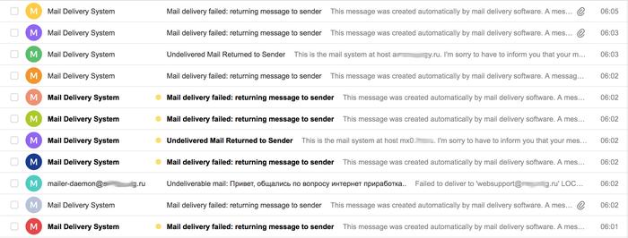 Волна подмены email адресов Фишинг, Мошенничество, e-Mail, Безопасность