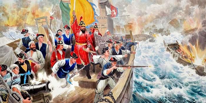 Победа по-корейски: Ли Сун Син против японцев. Япония, Корея, Флот, Сражение, Ли Сун Син, Адмирал, Длиннопост