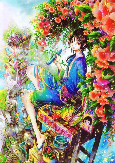 Shiro Yoshiwara Its a trap!, Adekan, Арт, Shiro Yoshiwara, Anime Art, Длиннопост