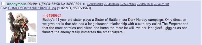 Отношения на расстоянии. Warhammer 40k, Dark Heresy, Wh humor, Перевел сам