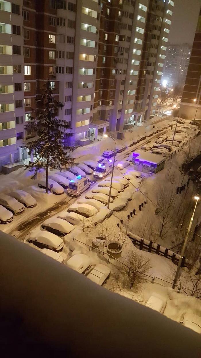 Движение в московских дворах Пдд, Длиннопост, Парковка, Скорая помощь, Москва