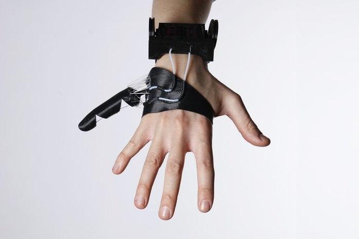 Протез шестого пальца Протез, Будущее, Наука, Наука и техника, Deus ex, Видео, Длиннопост