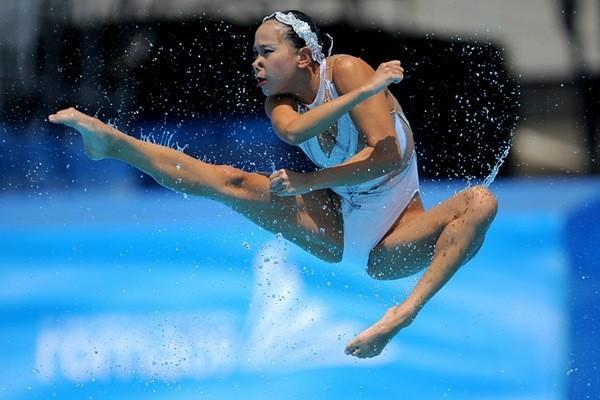 За это я люблю водный спорт Спорт, Вода, Выражение лица, Неловкий момент, Девушки, Длиннопост