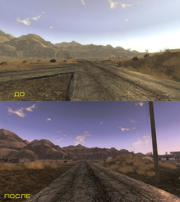 Улучшаем Fallout New Vegas при помощи модов Fallout, Fallout: New Vegas, Obsidian Entertainment, Модификации, Длиннопост, Видео