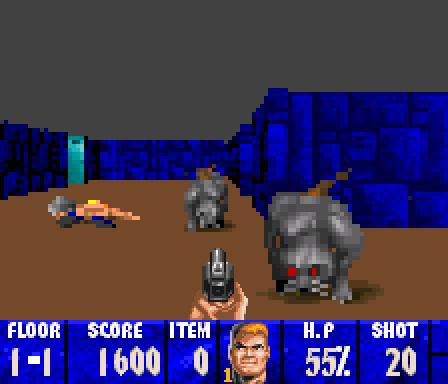 Wolfenstein 3D, где собак нужно гладить до смертельной усталости. Wolfenstein, Собака, Защита животных, Моддинг, Coub