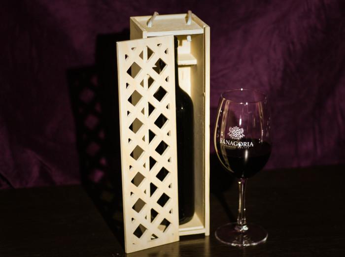 Коробка для вина ЧПУ, Шкатулка, Вино