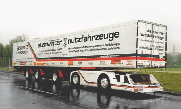 Необычные грузовики с очень низкой кабиной