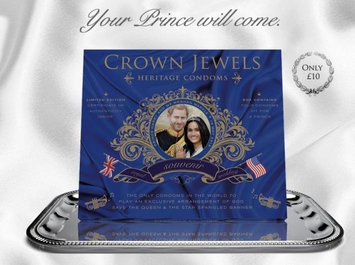 «Боже, храни королеву!» — в Британии выпустили поющие гимн презервативы Политика, Англия, Великобритания, Презерватив