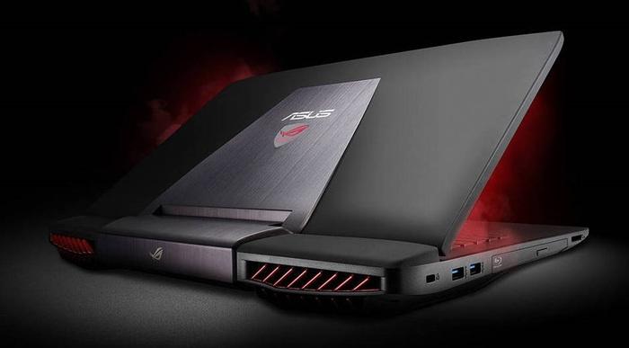 Краткий обзор игрового ноутбука Asus ROG GL552VW-CN867T Ноутбук, Asus, Длиннопост