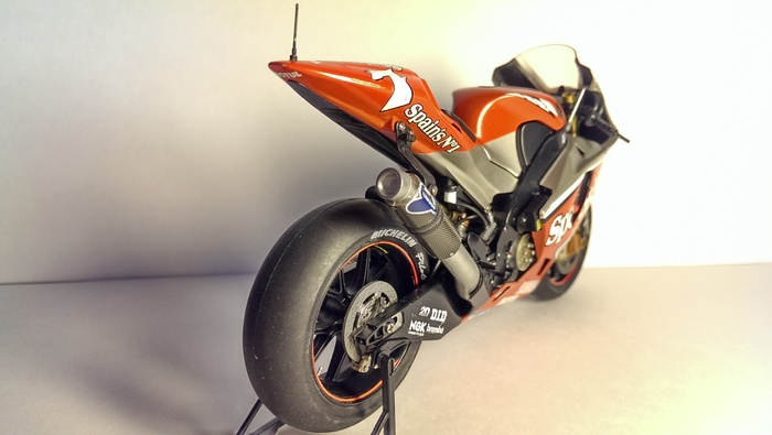 Yamaha YZR M1'04 Моделизм, Масштаб 12, Tamiya, Я сделяль, Мото, Yamaha, Стендовый моделизм, Длиннопост