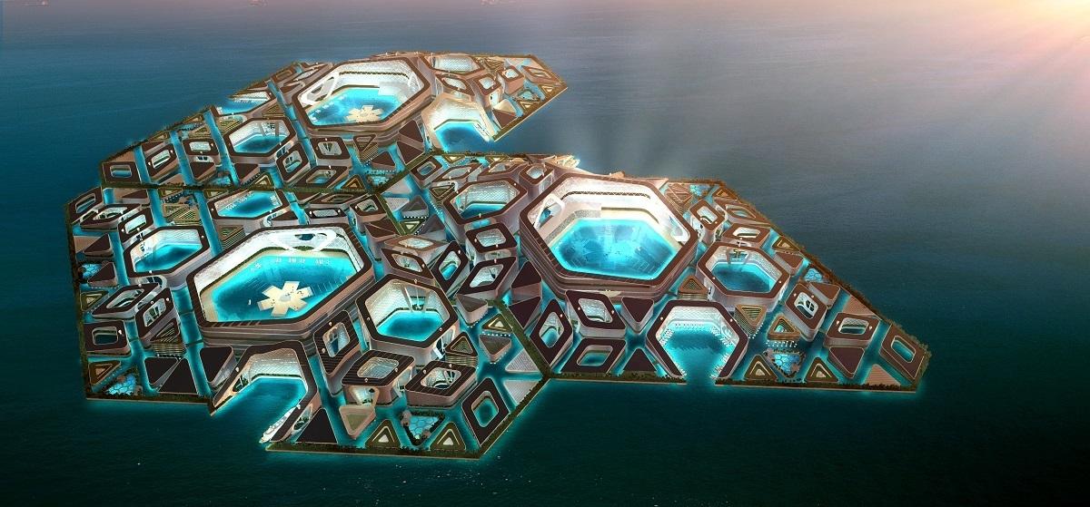 futuristic homecoming float