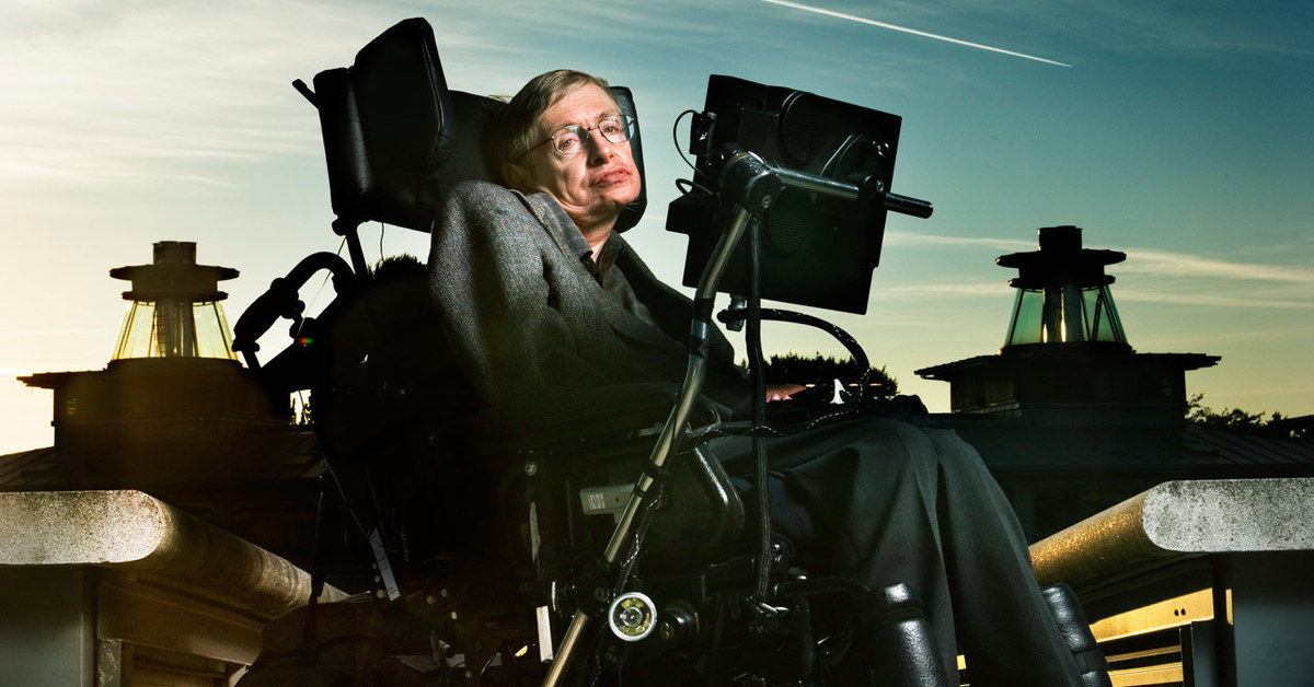Professor Stephen William Hawking was born on 8th January 1942 exactly 300 years after the death of Galileo in Oxford England His parents house was in north
