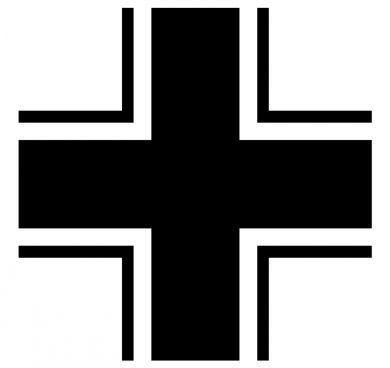 История Balkenkreuz Немецкий крест, Вермахт, Люфтваффе, Эмблема, История, Длиннопост, Фашистская символика