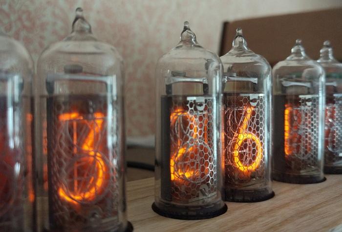 Ещё одни часы Никси на 6 лампах ИН-14 Никси, Ламповые часы, Nixie clock, Diy lamp, Длиннопост
