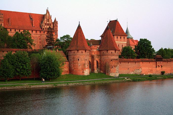 Как поляки крепость осаждали История, Крепость, Поляки, Тевтонцы, Тевтонский орден, Наемники, Многоходовка