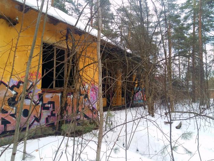 Заброшенный объект во Всеволожске Заброшенное, Ленинградская область, Всеволожск, Длиннопост
