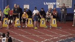 100-летний Орвилл Роджерс устанавливает возрастной рекорд в мужском забеге на 60 метров