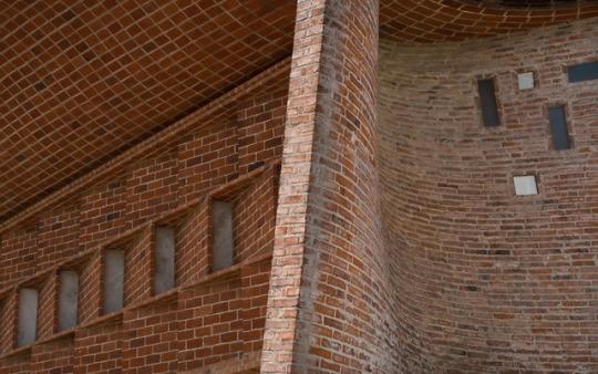 Церковь Cristo Obrero в Уругвае, архитектор Eladio Dieste Католическая церковь, Уругвай, Архитектура, Длиннопост