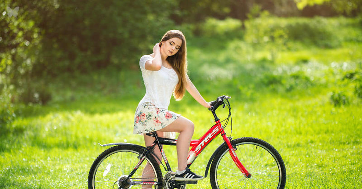 Картинки на велосепеде