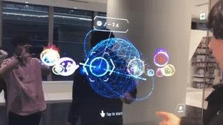 Pokedex в новом покемон-центре в Токио Pokedex, Покемоны, Токио, Гифка, Голограмма, Технологии