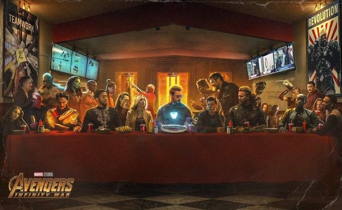 Вот тебе и вечеря Marvel, Комиксы, Было-Стало, Мстители, Геноцид, Супергерои