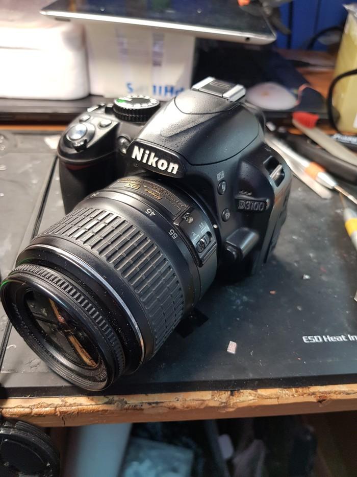 Nikon d3100 после водички Nikon d3100, Ремонт, Вода, Нижний Новгород, Длиннопост, Фотоаппарат