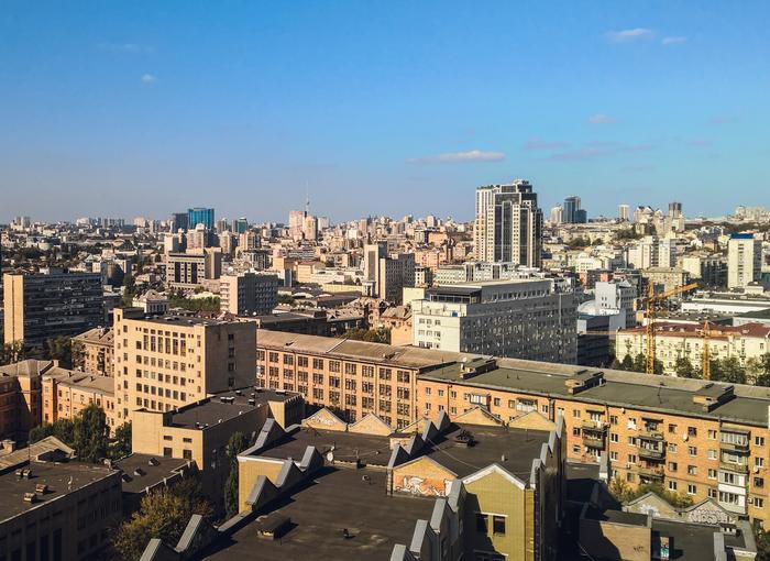 Свысока Начинающий фотограф, Город, Фотография, Высота, Киев