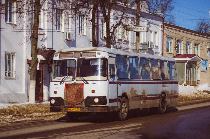 ЛиАЗам-труженникам Арзамаса посвящается Лиаз, Лиаз-677м, Арзамас, Фотография, Ретро, Путешествия, Длиннопост