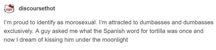 Секс-ориентация тех, кого заводят альтернативно одаренные Tumblr, Сексуальная ориентация, Тупость, Скриншот