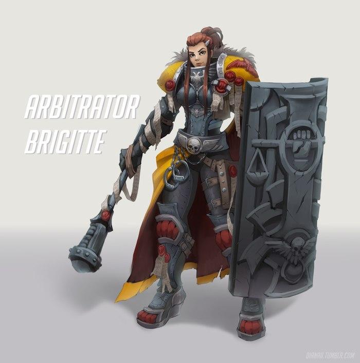Арбитратор Бригитта готова нести порядок в улья Империума!