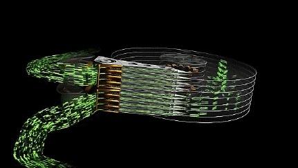 Seagate показала самый быстрый HDD в мире. Новости, Технологии, Seagate, Гифка