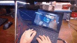 То ли еще будет IT, UI Tracking Technology, Визуализация, Гифка, Дополненная реальность, Augmented reality